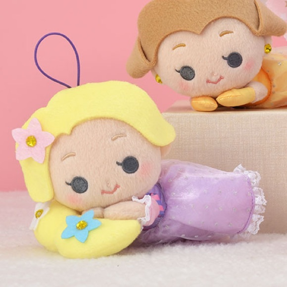 Disney Dreamy Plushy Rhinestone Rapunzel Version 2